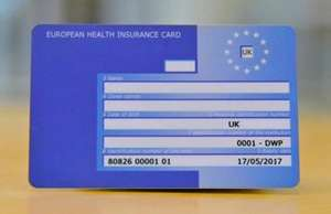 Apply for, or renew, your free European Health Insurance (EHIC) card