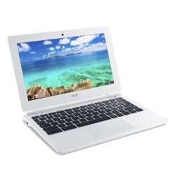 Refurbished Grade A1 Acer Chromebook 11 CB3-111 2GB 16GB SSD 11.6 inch Chromebook in White - £99.97 @ Laptops Direct