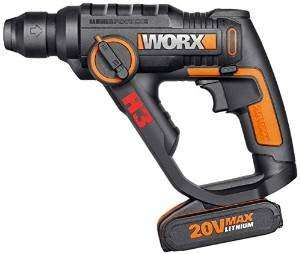 WORX WX390 20V 3-in-1 H3 Max Lithium-Ion Rotary Hammer £54.99 @ Amazon