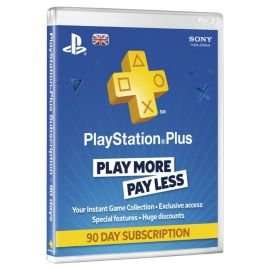 90 day playstation plus £12 @ Tesco