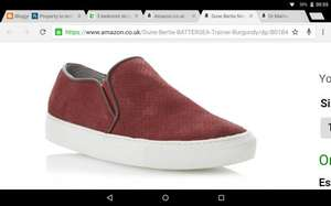 Dune shoes reduced to £19.75 + £3.50 UK delivery  @ Amazon Sold by Dune London