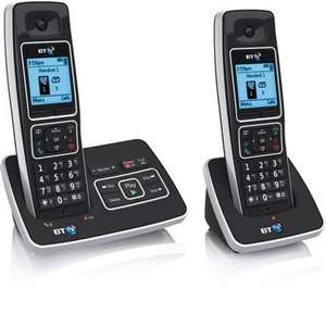 BT 6500 Twin Cordless Dect Telephone Answer machine - 2 handsets was £69.99 now £10.00!! @ homebase