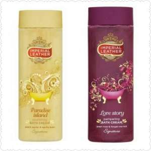 Imperial Leather Love Story & paradise Island Bath Cream 500ml, was £2 NOW Only 90P @ Asda in Store & Online