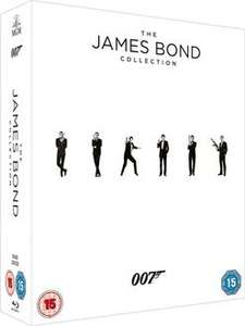 JAMES BOND 23 FILM BLU-RAY BOX SET £44 using code GOLD12  @ FOXDIRECT via RAKUTEN + £10 in points