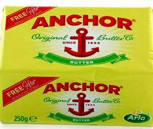 Anchor Butter 250g £1 online @ Tesco