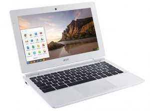 Manufacturer Refurbished - Acer-CB3-111-11-6-Inch-Intel-Celeron-2-16-Ghz-2GB-16GB-Chromebook-White  £109.99 @ Argos / Ebay