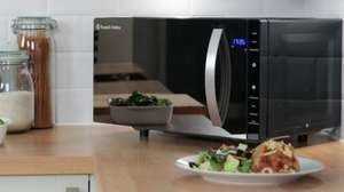 Russell Hobbs RHFM2363B 800 Watts Flatbed Microwave £74.43 @ Homebase