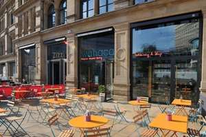 Completely free burritos Wahaca Manchester Thur 5 May 12-3