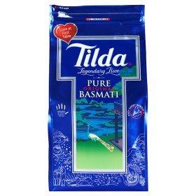 Tilda Pure Basmati Rice 15Kg @ £25 (or 5Kg @ £9) at Asda