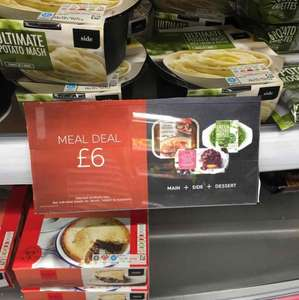 M&S Meal Deal - Main + Side + Dessert for £6 for Two