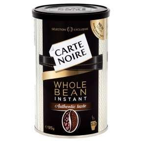 Carte Noire instinct wholebean instant coffee 95g Half Price Was £4.50 Now £2.25 @ Waitrose