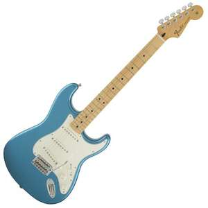 Fender Standard Stratocaster (MIM) Maple Neck in Lake Placid Blue £441 @ TheGuitarStore