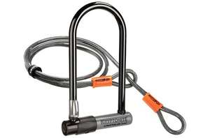 Kryptonite KryptoLok S2 Std D-Lock with 4 Foot KryptoFlex Cable £19.99 @ Evans Cycles