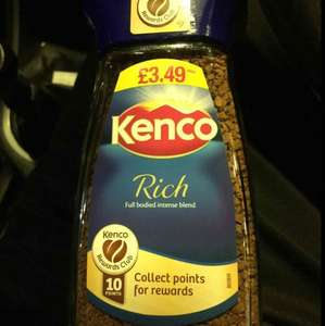 Kenco Rich/Smooth 100g jars half price! Best One stores £1.74
