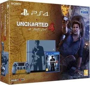PS4 1TB Console Uncharted 4: A Thief's End Limited Edition + NOW TV 3 Months Entertainment Pass £299.86 @ Shopto