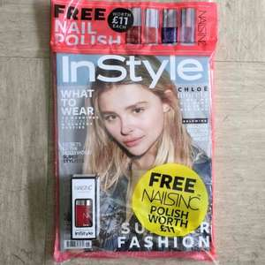 FREE Nails Inc polish worth £11 with InStyle magazine (June 2016 edition)
