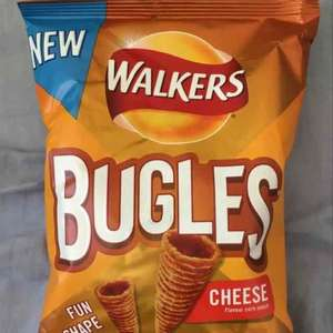 New Walkers Bugles Maize Crisp Snacks (110g) ONLY £1.00 @ Asda