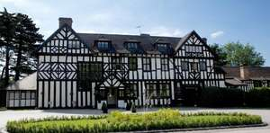 "1 Night Stay for 2 at the 4* Laura Ashley ""The Manor "" Hotel Herts + Full English Breakfast + 3 Course Dinner in the  AA 2 Rosette Restaurant + Glass of Prosecco £49.50 pp @ Travelzoo"