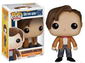 Doctor Who Pop Vinyl Figures - 2 for £14.99 [Using Code] @ IWOOT