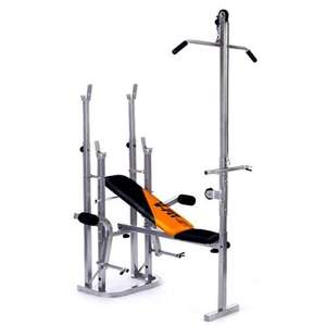 V-Fit STB/09-4 Folding Weight Training Bench - £104.99 sweatband