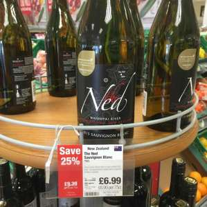 the Ned, Sauvignon Blanc only £6.99 in co-op