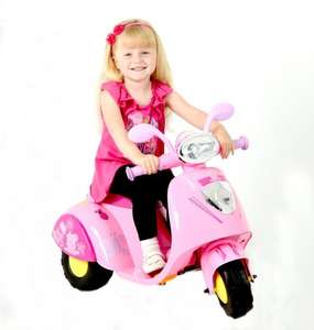 Peppa Pig 6V Kids Ride On Motorbike / Trike in Pink £45 del @ Tesco Ebay Outlet