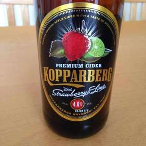 Three bottles of Kopparberg strawberry and Lime cider £3.68 with my waitrose card or 3 for £5 @ Waitrose