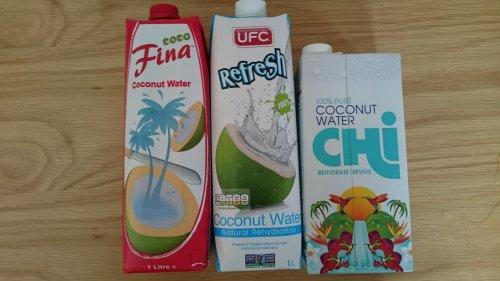 UFC/Coco Fina/ Chi Coconut water 30p each @ Asda Chorley