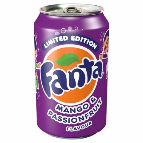 Fanta Mango and Passion Fruit 8 pack 88p at Asda