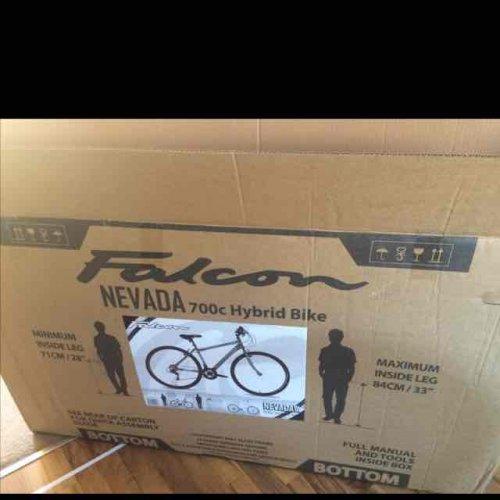 Falcon Nevada 700c Hybrid adults bike £50! Instore at Asda