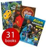 Buy Both Project X Alien Adventures Series 1 31 Book Collection & Project X Alien Adventures Series 2 25 Book Collection for £28 Delivered with code @ The Book People (oxford reading levels 7 - 14)
