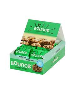 Bounce Foods Cacao Mint/Coconut & Macademia/Cacoa & Orange Protein Bomb Energy Balls 42 g (Pack of 12) - £8.28 (Prime) @ Amazon (69p each)