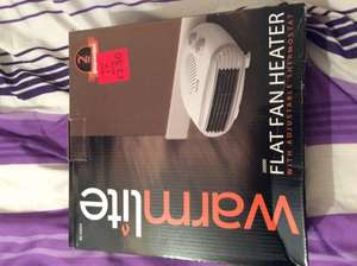 Heater fans £3.50 at Asda