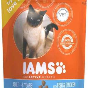 Iams cat food £1 @ Poundland