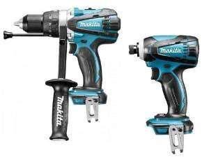 Makita BHP458 BTD146 18V Cordless LXT Li-Ion Combi Drill and Impact Driver - Body only £117.99 Amazon