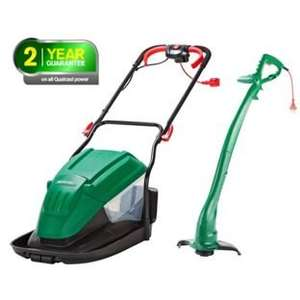 Qualcast Corded Hover 1600W Mower and 320W Grass Trimmer £69.99  @ Argos
