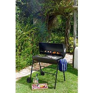 Oil Drum Charcoal BBQ with Cover £49.99 @ Argos