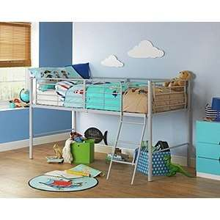 Argos - Lucas Mid Sleeper Bed Frame - Grey - £66.36