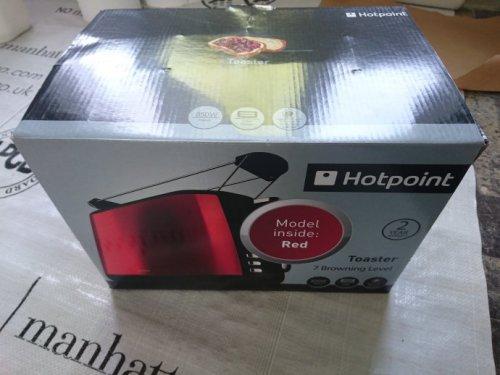 Hotpoint TT22MDR0 toaster for £10 Tesco instore