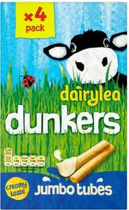 Dairylea Dunkers Jumbo Tubes (4x47g) for £1.15 at Tesco, online and in store