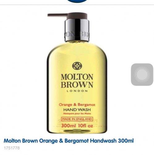 Molton Brown orange and bergamot handwash £16 @ Boots