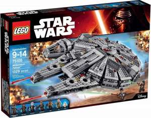 LEGO Star Wars Millennium Falcon 75105 £89.99 [Using Code] @ Tesco Direct