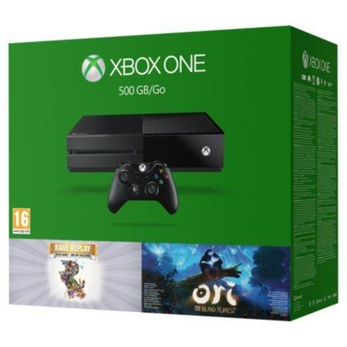 Xbox One 500GB Rare Replay + Ori Bundle £209 (Using Code) @ Tesco Direct (Free C&C)