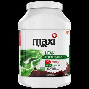 MaxiNutrition Lean Protein Powder Chocolate/Strawberry - 1kg - £12.49. Half Price at Boots Online & In-store