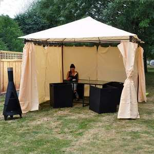 heavy duty luxury gazebo amazon, delivered £111.59 delivered - Dispatched from and sold by JTF Mega Discount Warehouse