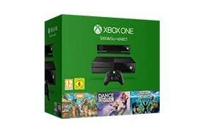 Xbox One Kinect 3 game bundles + free Halo 5 or Tombraider £299 (was £259) @ Microsoft