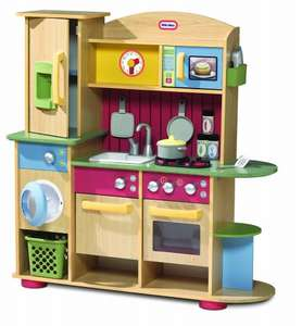Little Tikes Premium Wooden Kitchen was £150 now £90 del with code @ Tesco Direct