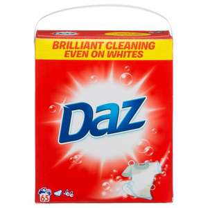 Daz 65 washes £6.99 semichem instore
