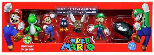 Super Mario Mini Figure Collection £7.99 @ B&M