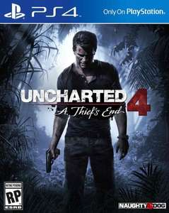 uncharted 4 ps4  for £32 on Amazon prime now using code 30primenow (only for certain postcodes)